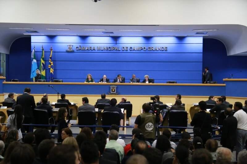 Vereadores criaram quatro novas comissões especiais (Foto: Marcos Ermínio)