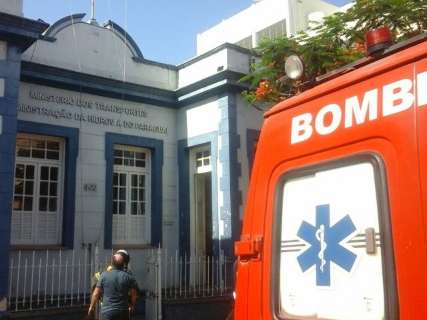 Princípio de incêndio assusta servidores e prédio do Dnit é evacuado