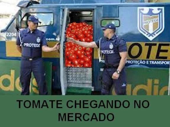 """Preço do tomate chegou a R$ 11 na Capital e quase virou """"caso de Polícia"""""""