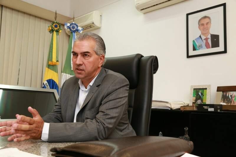 """""""Num momento de crise, você não tem R$ 50 milhões para concluir o Aquário"""", diz Azambuja.(Foto: Marcos Ermínio)"""