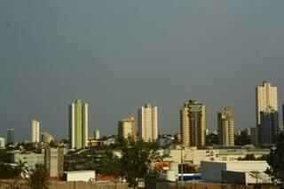 Após chuvas intensas, Capital voltou a ter períodos de sol nesta sexta-feira (Foto: Marcos Ermínio)