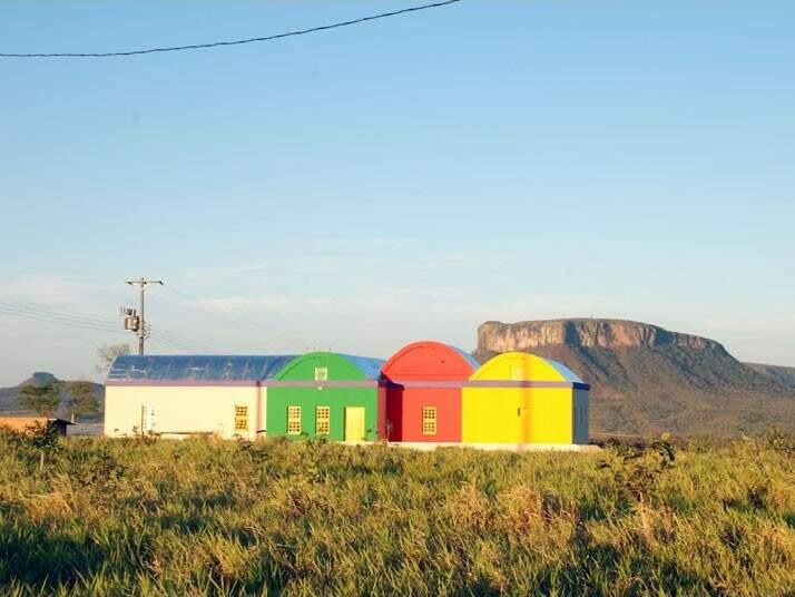Comunidade levantada por Urandir em Corguinho. (Foto: Ubirajara Martins)