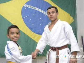Dahud e Júlio, que disputará mundial no Chile. (Foto: Anderson Gallo/Diário Corumbaense)