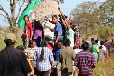 Índios são hostilizados e perseguidos após ocupação, denuncia Aty Guasu