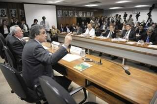 Ministro da Justiça foi questionado por autoridades de MS sobre promessas não cumpridas (Foto: Agência Senado)