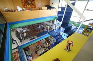 Colorido deixou a casa moderna e descolada desde 1997. (Foto: André Bittar)