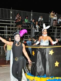 Madrinha da Cruzeiro saiu de um chapéu de mágico.