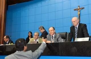 Deputados aprovam projeto que reduz tributo e busca aumentar consumo do diesel em MS (Foto: Roberto Higa/ALMS)