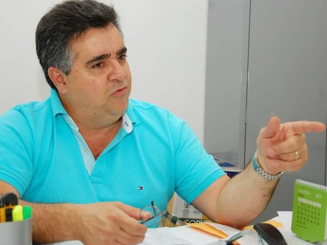 Pascoal foi indicado pela bancada federal para assumir o lugar de Marcelo Miranda no Dnit(Foto:Simão Nogueira)