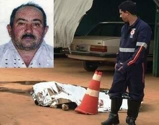 O ajudante de serviços gerais José Cícero Soares, 58 anos, morreu ao ser atingido pelo portão da empresa que trabalhava (Foto: Divulgação TL Notícias)