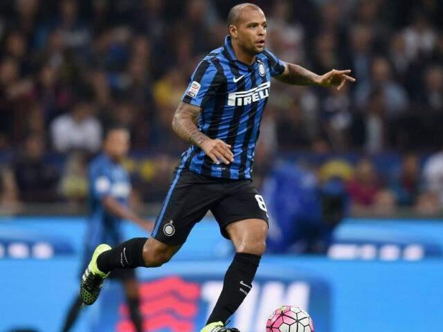 O jogador foi revelado pelo Flamengo, passou por Cruzeiro e Grêmio e atualmente estava no Internazionale da Itália. (Foto: Forza Italian Football)