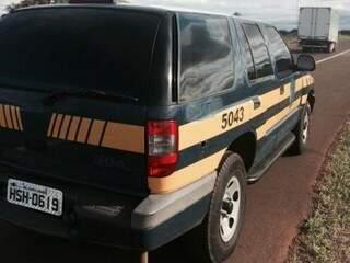Veículo ainda estava com características da PRF. (Foto: Divulgação)