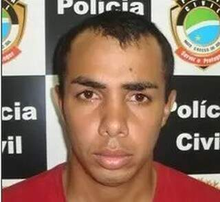 Agean foi preso nesta quinta-feira em Maracaju. (Foto: divulgação/Polícia Civil)