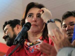 Simone, na convenção do MDB que a definiu como candidata (Foto/Arquivo: Marinha Pacheco)