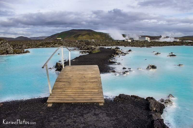 Famosa Blue Lagoon, Islândia. (Foto: Karine Matos)