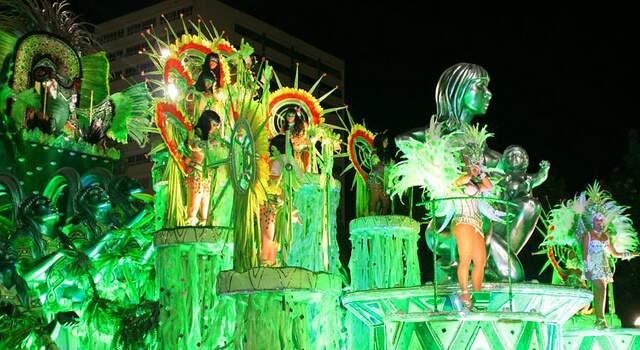 """""""Sinfonia da natureza"""" contou a relação do homem com a riqueza pantaneira.(Foto: Ary Delgado/Jornal SRDZ-Carnaval)"""