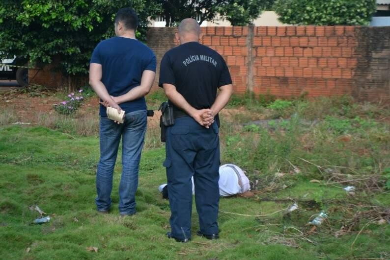 A garota foi encontrada morta nesta manhã. (Foto: Rio Brilhante News)