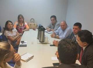 A reunião foi realizada na tarde de ontem (Foto: Divulgação)