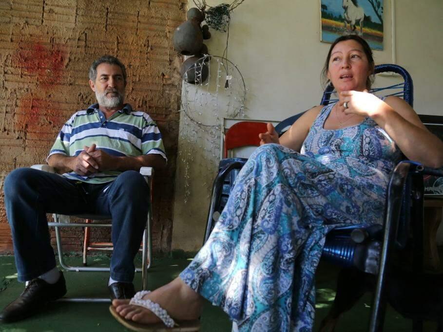 Alziro e Ilda descartam que Mayara foi vítima de um feminicídio (Foto: Marcos Ermínio)
