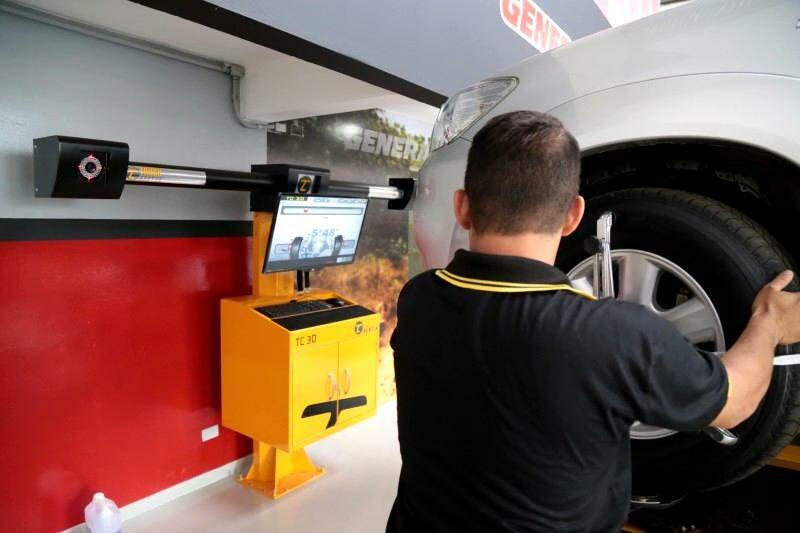 Tecnologia em serviços é um dos diferenciais da loja.