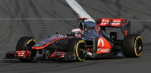 Jenson Button venceu corrida na Austrália, na abertura da temporada. (Foto: UOL)