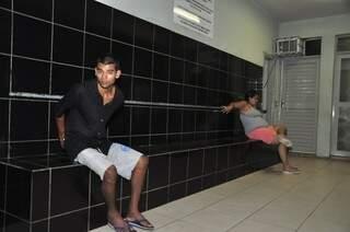 Robison é suspeito de sequestrar o próprio filho, recém-nascido, para entregar para Renata (foto: João Garrigó)