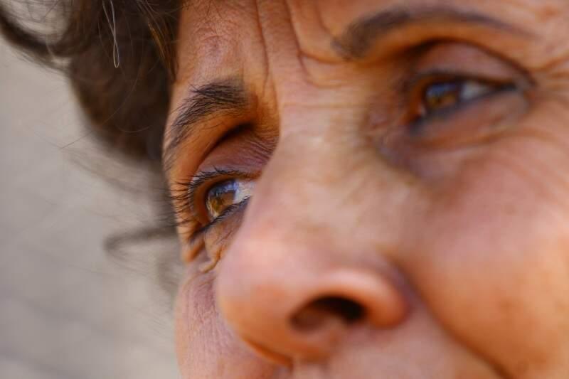 Durante 22 anos, olhar foi de tristeza pela falta de amor. (Foto: André Bittar)