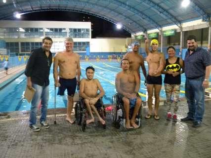 Rádio Clube lança projeto de apoio à natação paraolímpica