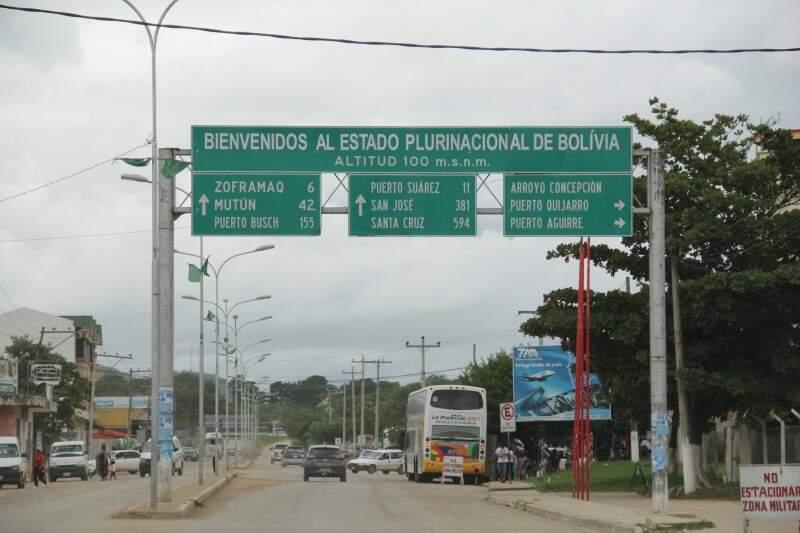 Fronteira com Bolívia traz desafios na área da segurança (Foto: Marcos Ermínio)