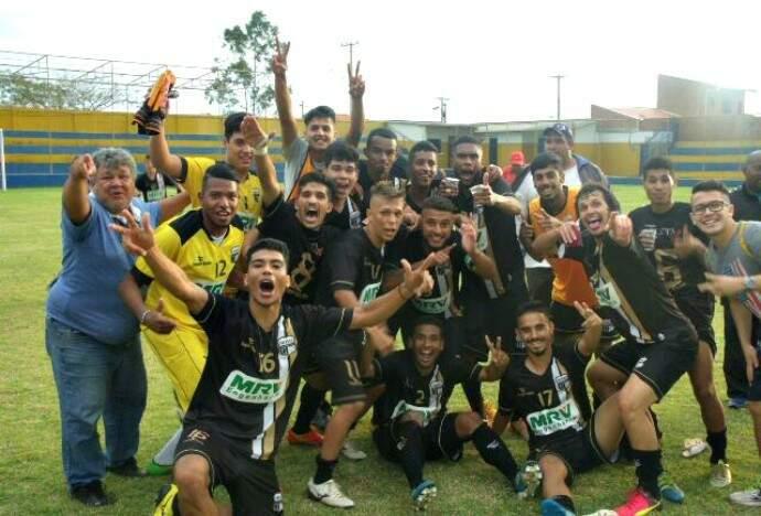 Campeão estadual Sub-19 em setembro de 2016, o Novoperário disputa Copa São Paulo pela primeira vez (Foto: Arquivo)