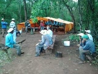 Trabalhadores estavam em situação degradante (Foto: Divulgação/MPT)