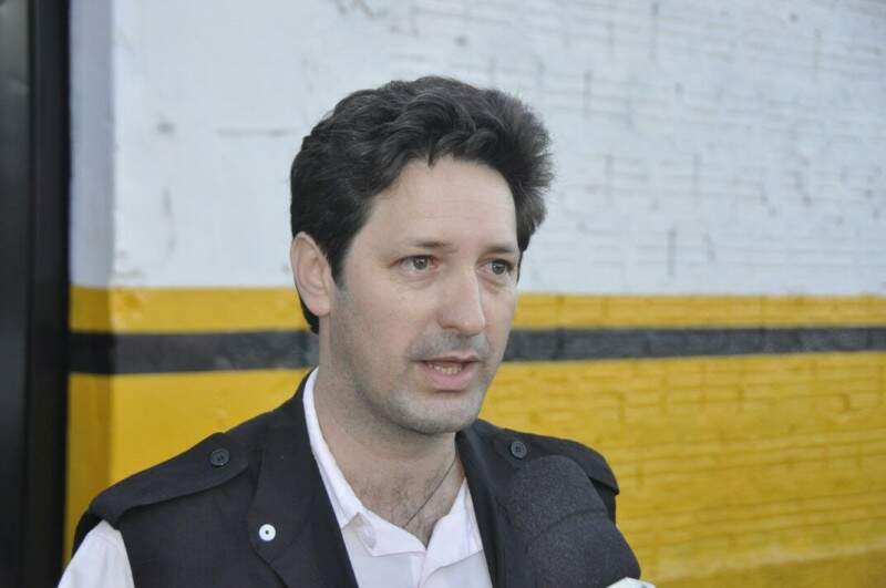 André Luiz reclama do aumento de número de penitenciárias em MS em detrimento ao servidor (Foto: Marcelo Calazans)