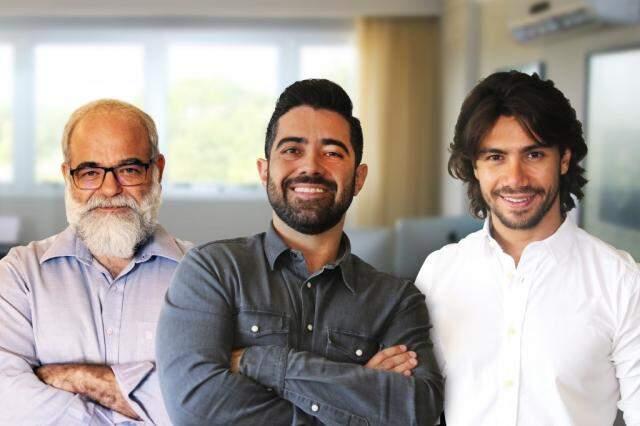 Reinaldo, Ricardo e o cantor Mariano criaram criptomoeda e arrecadaram R$ 1 milhão (Foto: Divulgação)