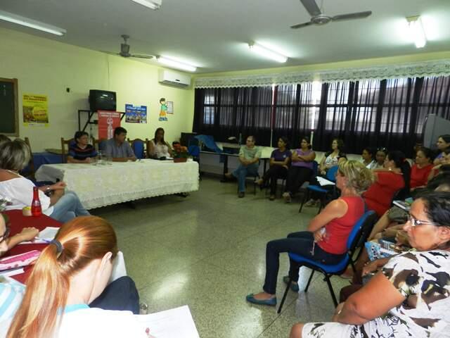 Reunião hoje em Costa Rica. (Foto: Divulgação)