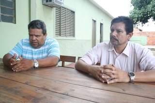 Pastores reclamam de desorganização e dizem que duas mil pessoas deixaram de ser atendidas por ação social (Foto: Marcos Ermínio)