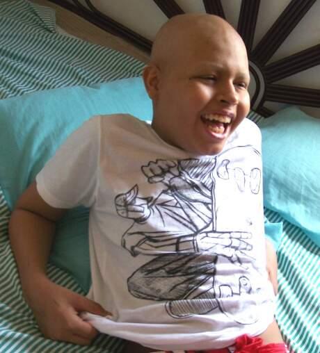 Victor Hugo luta contra o câncer desde os 11 anos