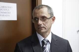 Samir foi ouvido pelo delegado da DPCA, Laureto (foto: Cleber Gellio)