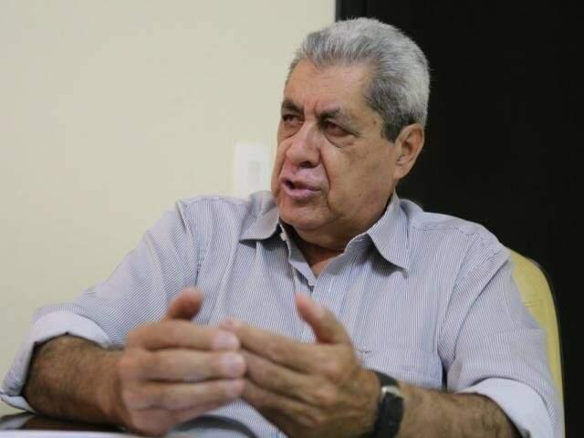 O ex-governador André Puccinelli, no início de 2018: planos para candidatura (Foto: Marcos Ermínio)