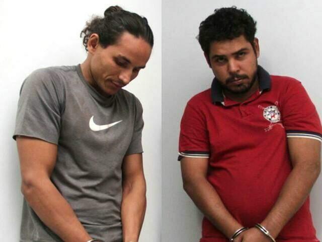 Pereira (esquerda) deve ser solto ainda nesta terça-feira; 'Cachorrão' responderá por tráfico (Fotos: Marcos Ermínio)