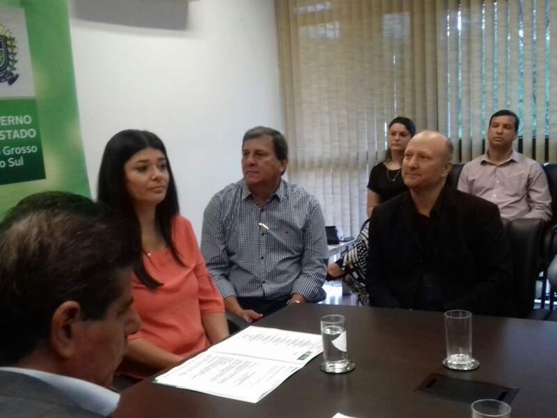 Governadora em exercício apresentará propostas de MS em reunião com Temer (Foto: Mayara Bueno)