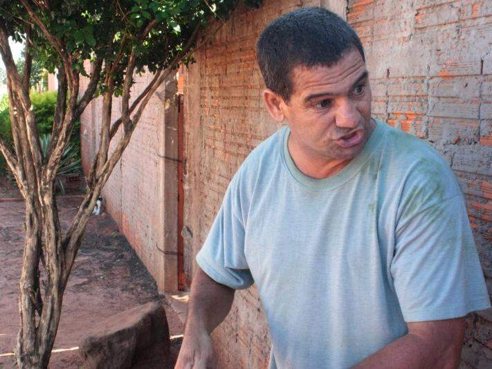 Nando diz que tem medo de sangue, depois que a mãe foi morta pelo padastro, quando ele tinha 11 anos. (Foto: Marcos Ermínio/ Arquivo )
