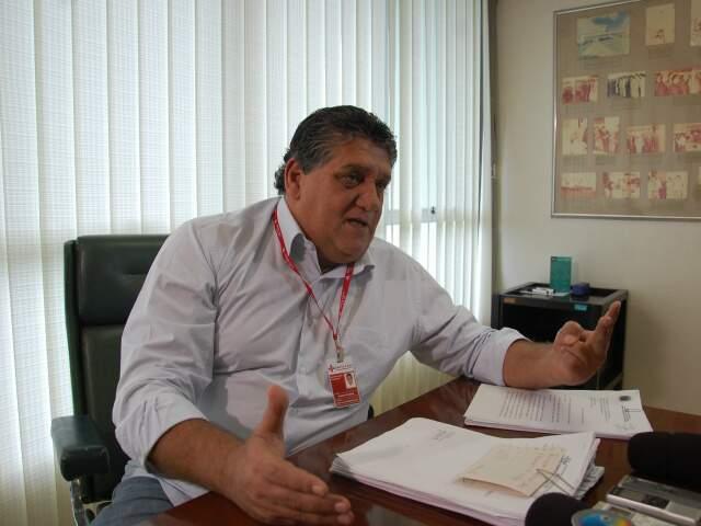 """""""Não estamos fechando as portas, estamos cortando gastos com pediatras"""", explica diretor. (Foto: Paula Vitorino)"""