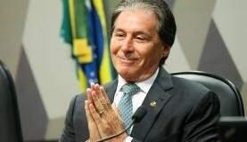 Eunício Oliveira é o nome escolhido pelo PMDB e tem o apoio da maioria das legendas (Marcelo Camargo/Agência Brasil)