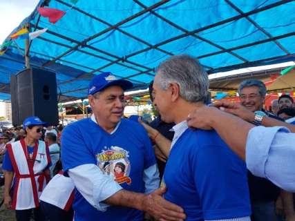 """Em evento, André rejeita coligação e Reinaldo diz que """"tudo é possível"""""""
