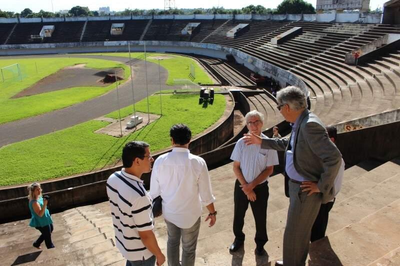 Em obras desde o dia 2 deste mês, Estádio Morenão deve ser a grande novidade do Estadual 2017 (Foto: Arquivo)