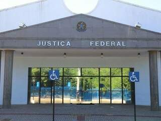 Justiça Federal em Campo Grande. (Foto: Fernando Antunes)