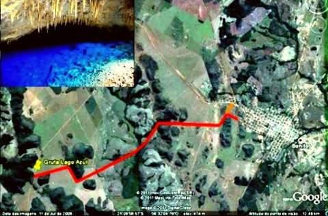 Bonito pode ter rodovia ligando cidade à Gruta do Lago Azul