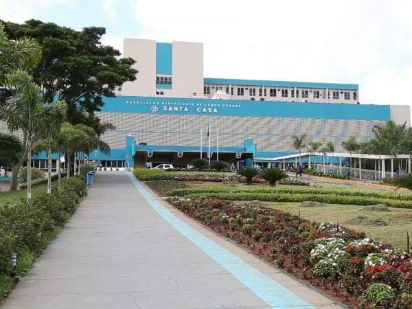 Santa Casa de Campo Grande, maior hospital de MS. (Foto: Marcos Erminío)