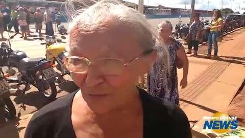 Ambulantes antigos ficarão sem trabalhar, dizem manifestantes