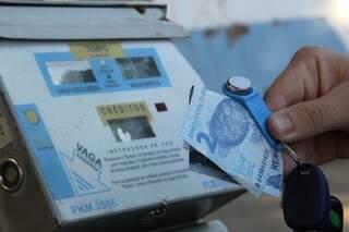 Valor do parquímetro é reajustado após seis anos (Foto: Marcos Ermínio)